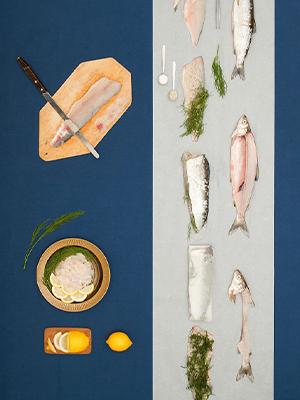 美食餐桌变天然色彩画布