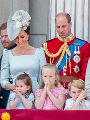 英国王室儿童萌翻众人