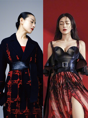 两位富察皇后齐登时尚杂志