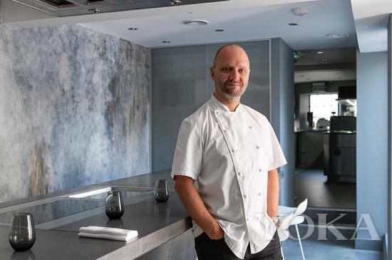 米其林二星的大厨Simon Rogan 图片来自Royal Ascot官网
