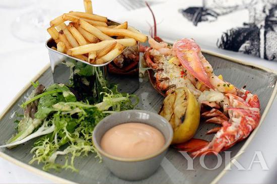龙虾和虾 图片来自Royal Ascot官网
