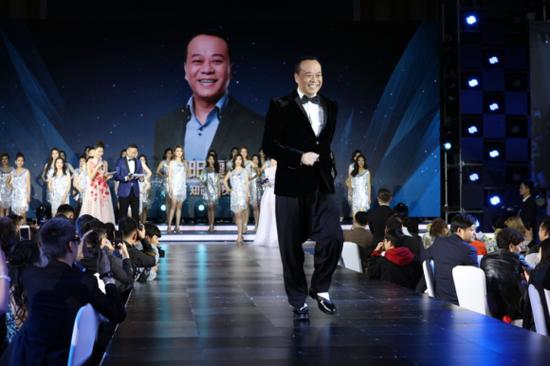 香港影星欧阳震华担任大赛评审