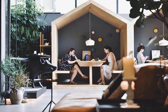 独立的小型会客室
