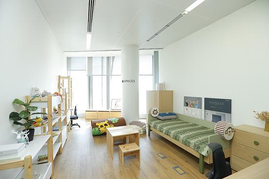 Spaces中的儿童室,适合那些不得不带孩子上班的办公者