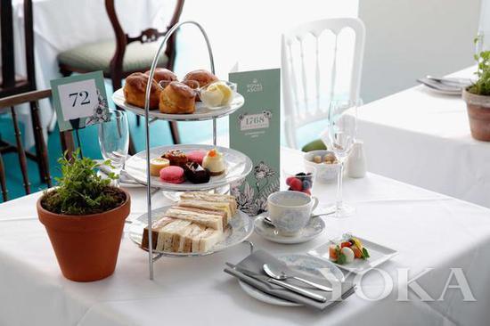 1768 Grill & Tea Rooms下午茶套餐 图片来自Royal Ascot官网