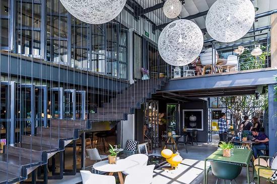 """曾被称为""""北京最贵联合办公""""的ideaPod,具有良好的室内环境"""