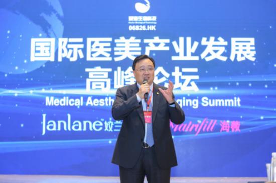 图为:昊海生物科技执行董事兼总经理吴剑英