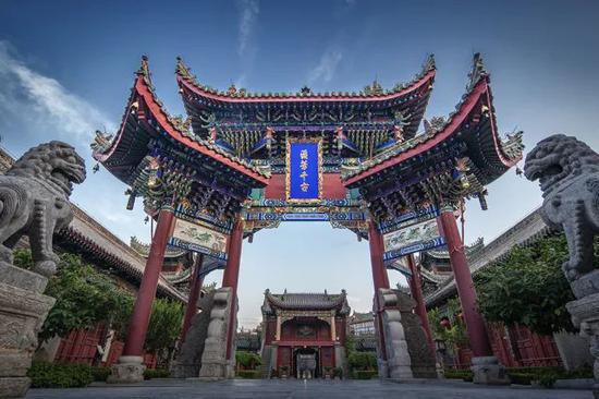 《山陕甘会馆》摄于河南开封市