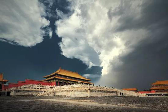 《风云紫禁城》 摄于北京故宫