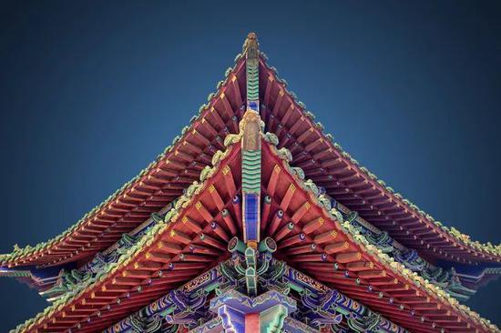 《翩然》 摄于河南济源济渎庙