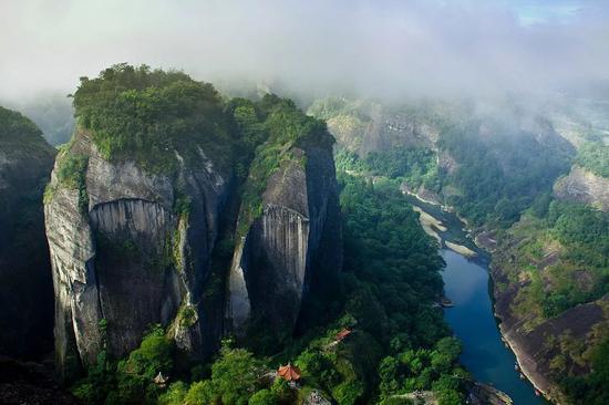 武夷山。图/视觉中国