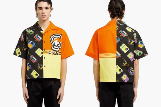 疑为缅怀Brain Dead的Prada保龄球衬衫