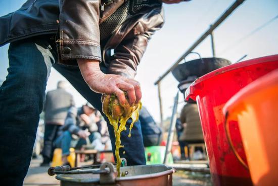 牛瘪汤,据说有肠胃保健功效。图/视觉中国