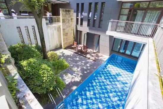 四居室畅享泳池别墅