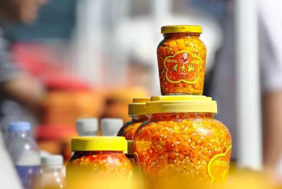 湖南衡东黄贡椒。图/视觉中国