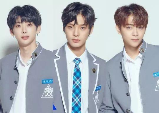 这三位韩星小哥哥的颜值还是很可以的