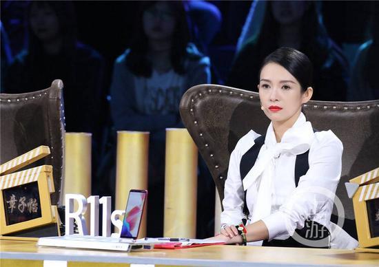 《我就是演员》柏红女装2017新款 中长款养生海报图片素材:章子怡回归徐峥新加盟