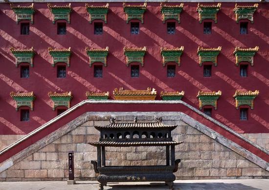 《牖影》 摄于河北承德行宫