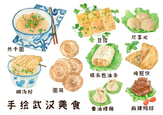 看手绘也忍不住流口水。图/视觉中国