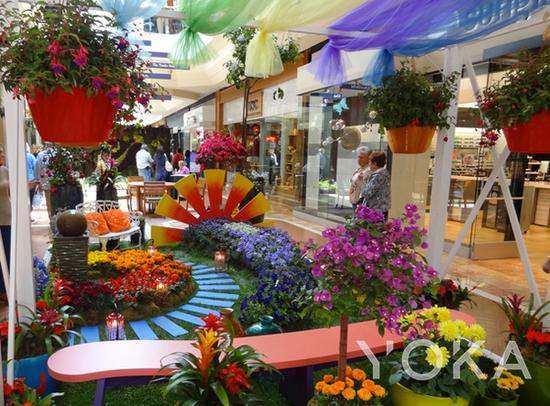 春天主题的Garden show 图片来自southcoastplaza官网