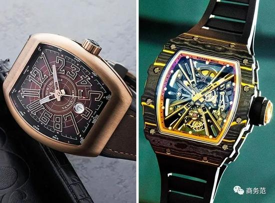 如何一眼看出对方戴什么表?