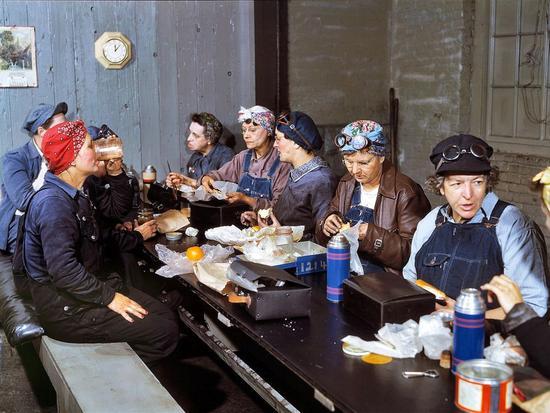 二战时期的美国女工