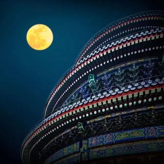 《圆》 摄于北京天坛