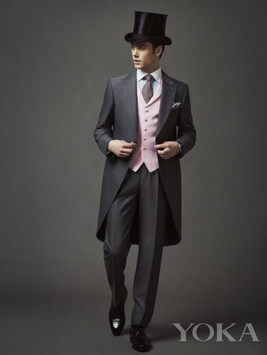 Royal Enclosure dress code for man 图片来自Royal Ascot官网
