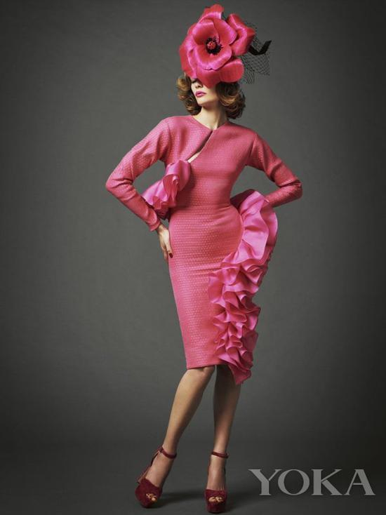 Royal Enclosure dress code for woman 图片来自Royal Ascot官网