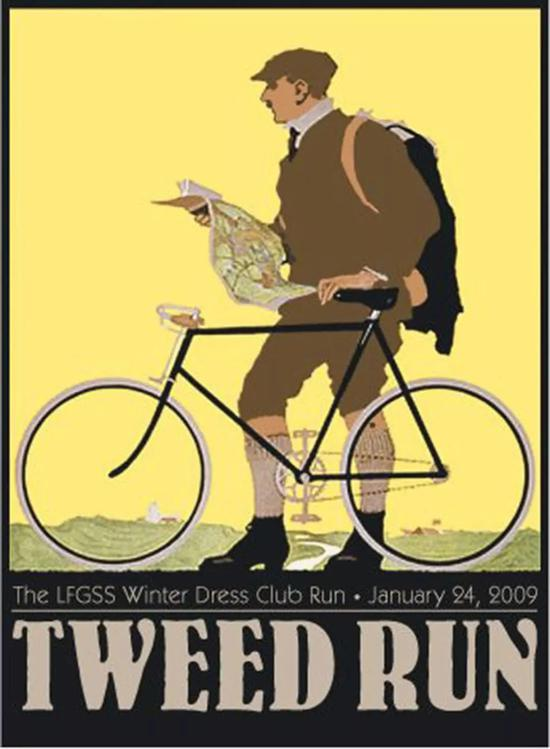 Tweed Run宣传海报