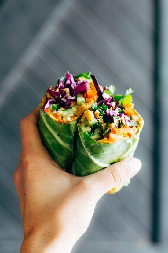 健康饮食 越吃越瘦 图片源自pinchofyum.com