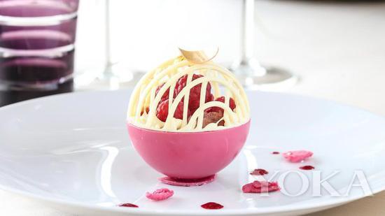 充满视觉美感的甜品 图片来自Royal Ascot官网