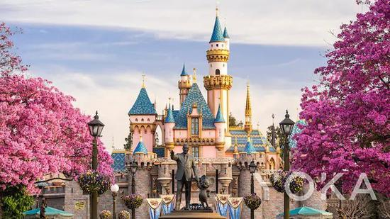 迪士尼乐园 图片来自迪士尼官网