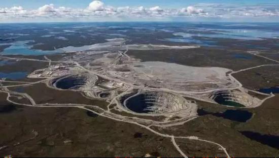 Dominion运营或参与运营的加拿大钻矿