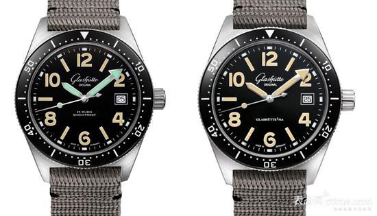 SeaQ 1969限量版(左)、常规版SeaQ(右)