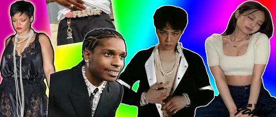 GD和Rocky争抢潮流界最强 珍珠代言人谁更胜一筹?