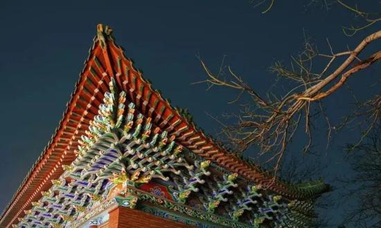 《拂》摄于郑州胡公祠