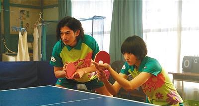 演员的乒乓戏份都是亲身出演。