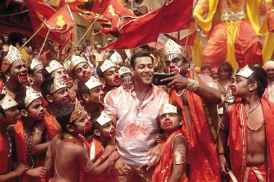 印度电影通常融合了很多类型元素。