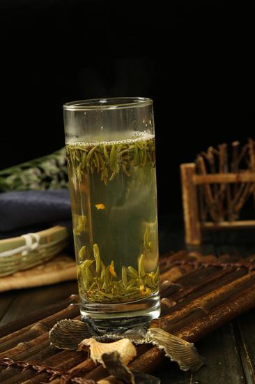 河豚鱼鳍茶
