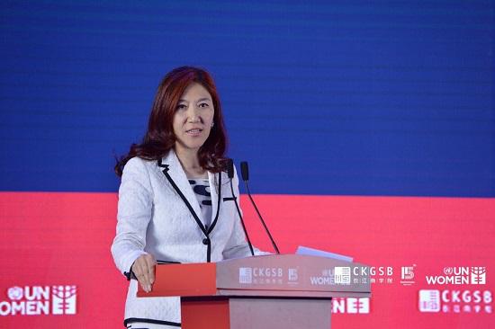 摩根士丹利亚太区联席首席执行官兼中国区首席执行官孙玮女士为论坛做主旨演讲