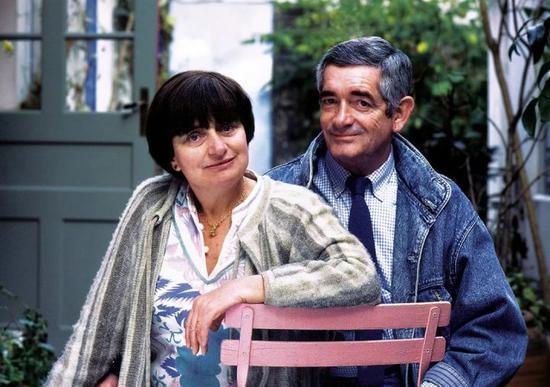 阿涅斯·瓦尔达与丈夫雅克·德米的最后一张合影
