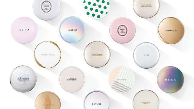 爱茉莉太平洋集团旗下品牌的气垫型产品