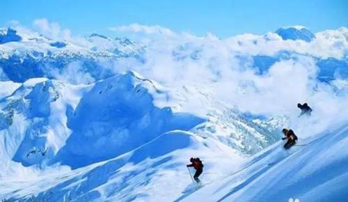 當不成網紅不要緊 會滑雪照樣可以追到思聰老公