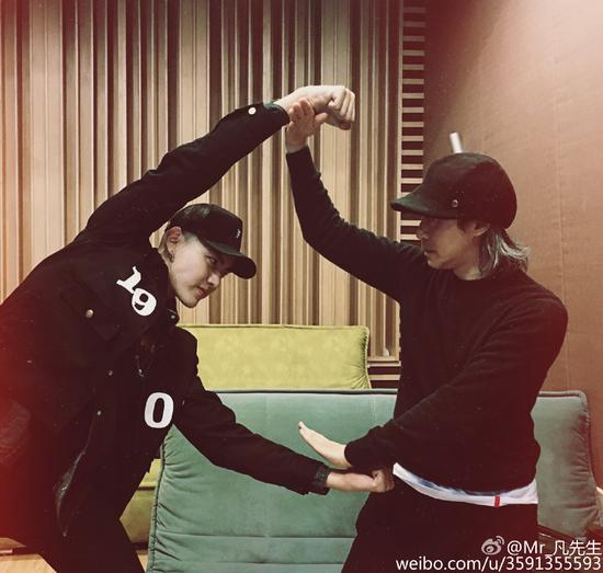 周星馳贊吳亦凡:天分非常高 我是他的粉絲