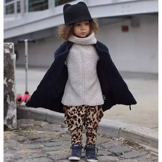 4岁的人气儿童模特London Scout