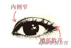 開扇型雙眼皮