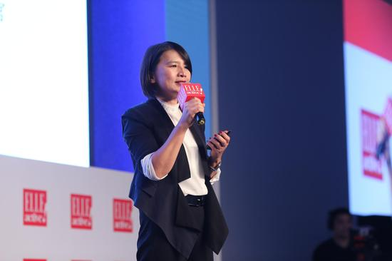 赫斯特媒体广告集团中国区首席执行官杨玟女士开场致辞