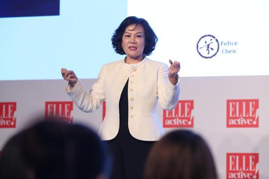 资深国际银行家,清华大学、北京大学、台湾大学专家教授陈嫦芬分享了如何锻炼女性菁英的沟通力