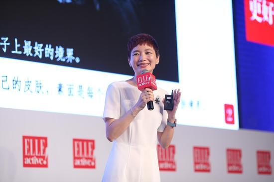 ELLE中国首席内容官晓雪与听众分享了四十的女人如何保持自己的优雅气质